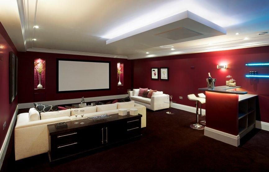 all the frills home cinema design