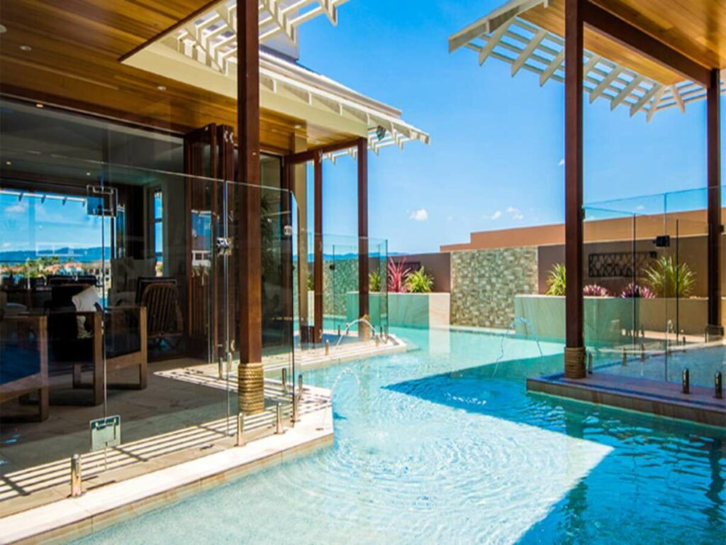 infinity pool clear water bay residence