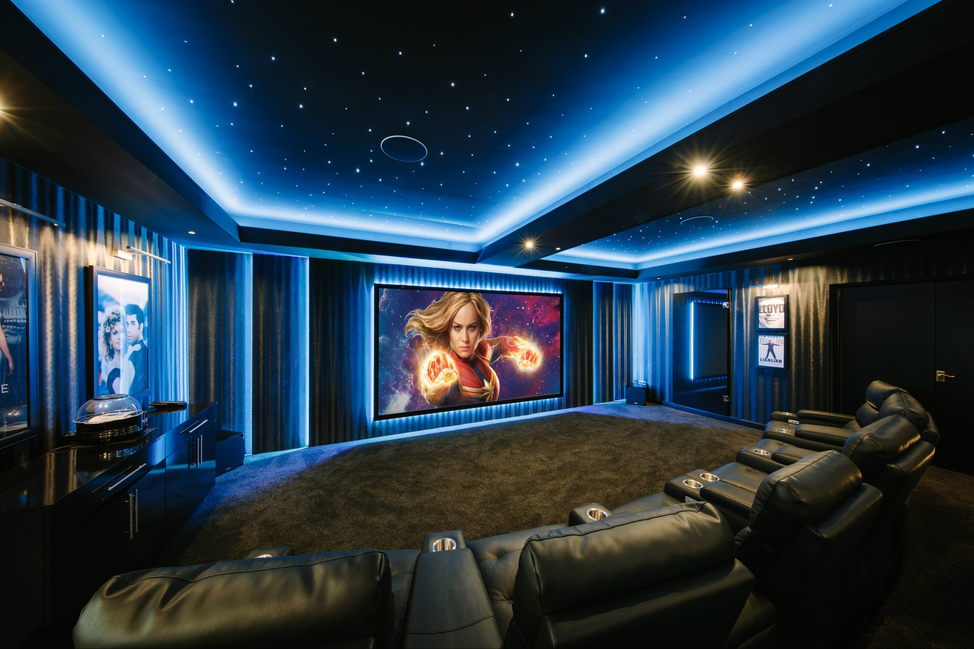 cutting-edge extravagant home cinema