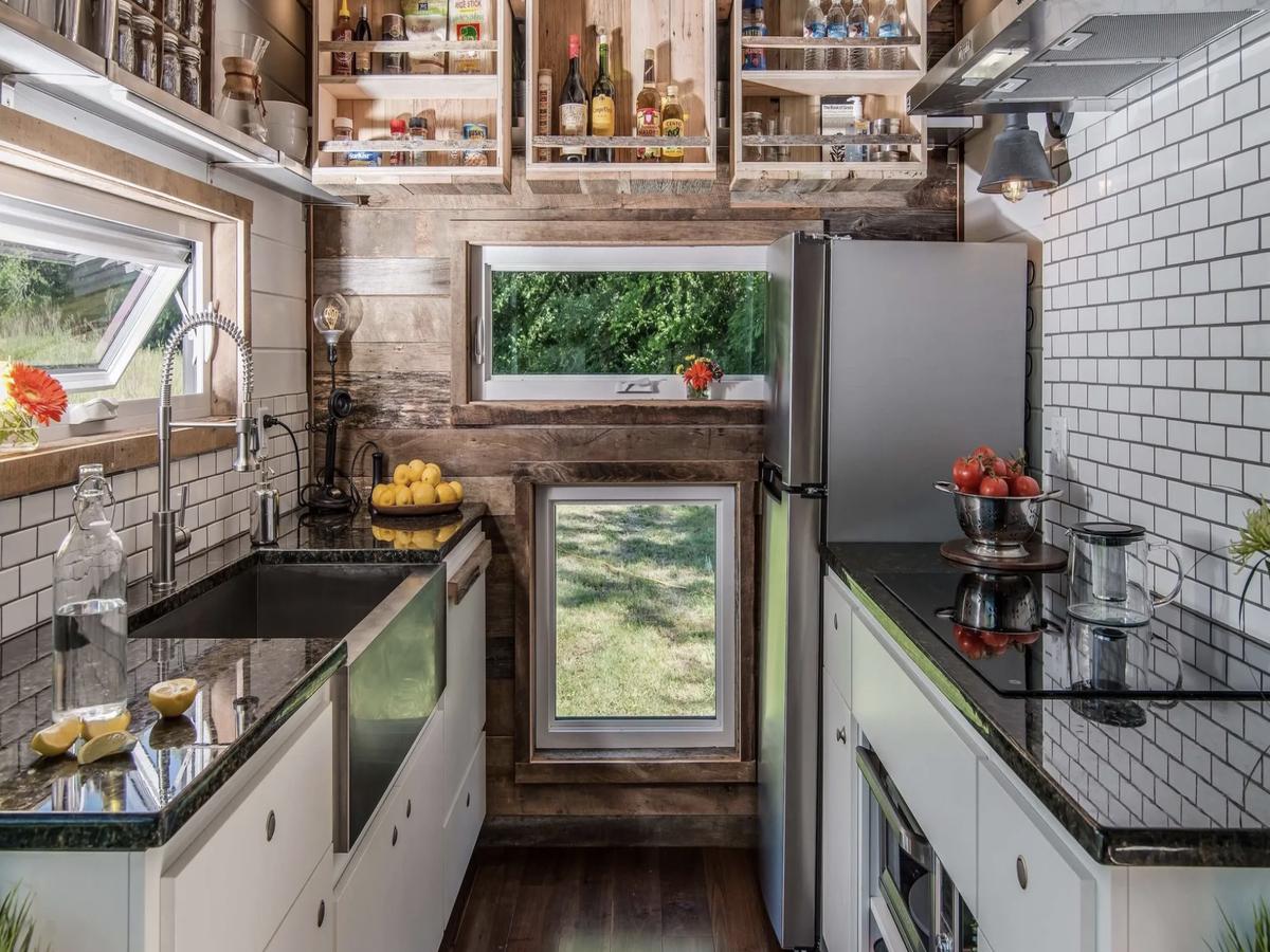 portable tiny home kitchen idea
