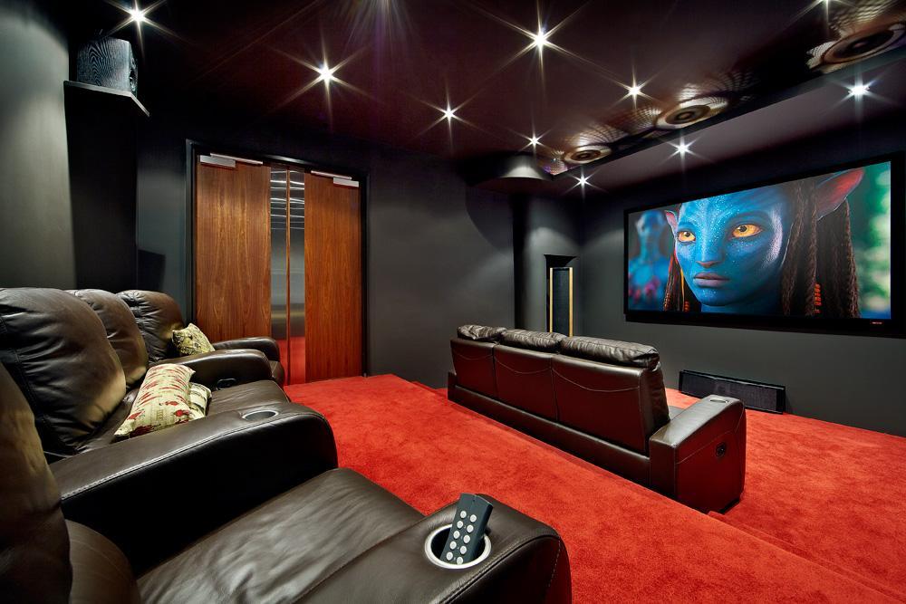 purpose-built home theatre design inspiration