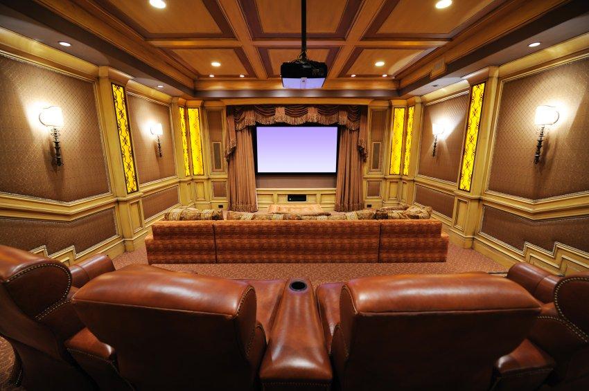 theatre-inspired home theatre design
