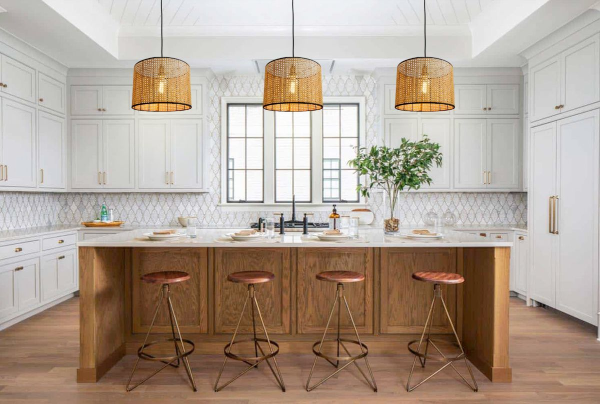 cute native kitchen lightings